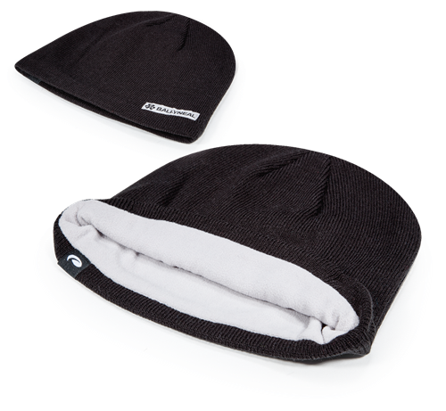 Pukka beanie with fleece interior