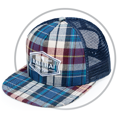 Circle with Pukka hat front view