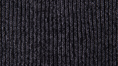 Twisted yarn option black and steel