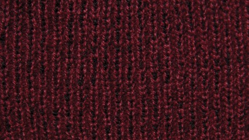 Twisted yarn option maroon and black