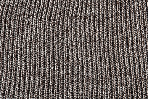 Heathered yarn option brown and stone