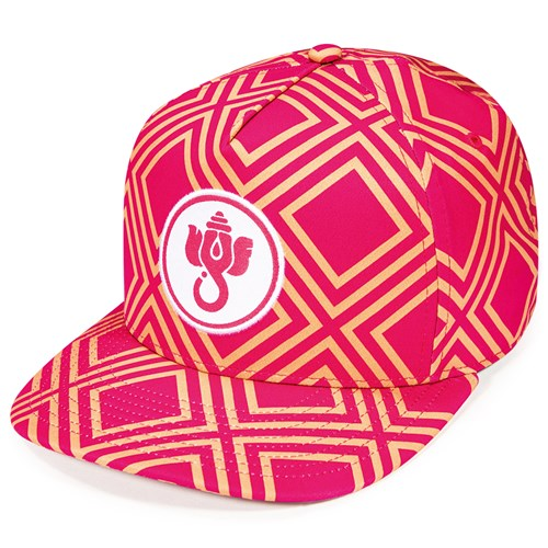 All Over Custom Sublimation on 5-Panel Adjustable Hat