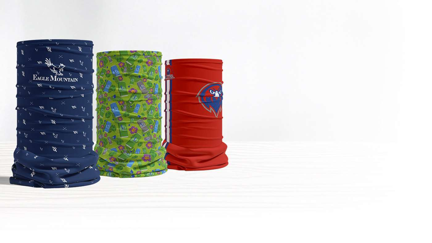 New Custom Neck Gaiters from Pukka