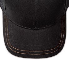 Pukka hat, visor stitching, 4 rows, 2 contrast stitch, 1 color