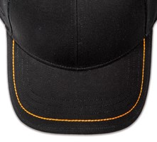 Pukka hat, visor stitching, 4 rows, 1 thick stitch, 1 color