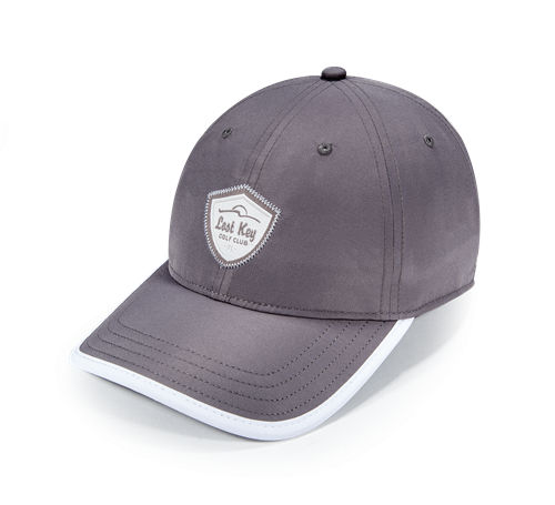 Pukka hat with visor binding