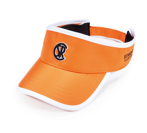 Pukka visor with crown binding