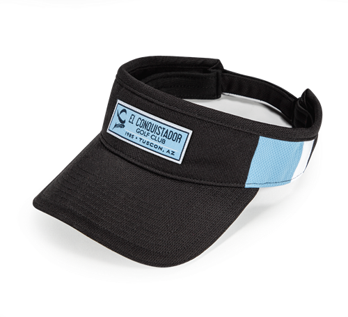 Pukka visor with double side cut and sew